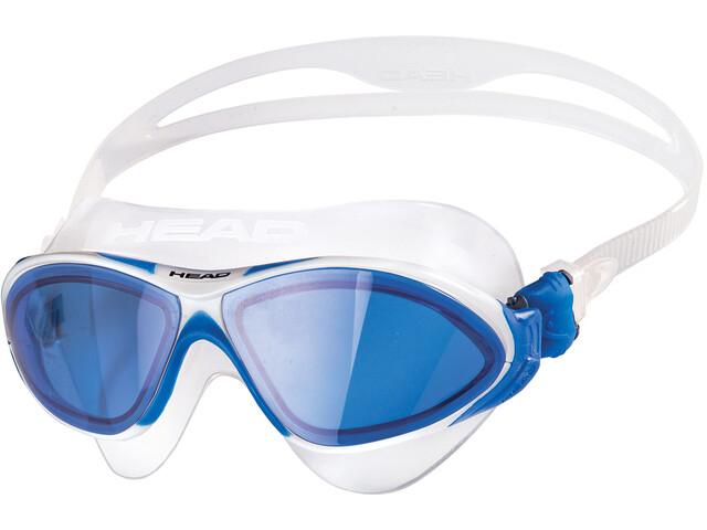 Head Horizon - Gafas de natación - azul/transparente